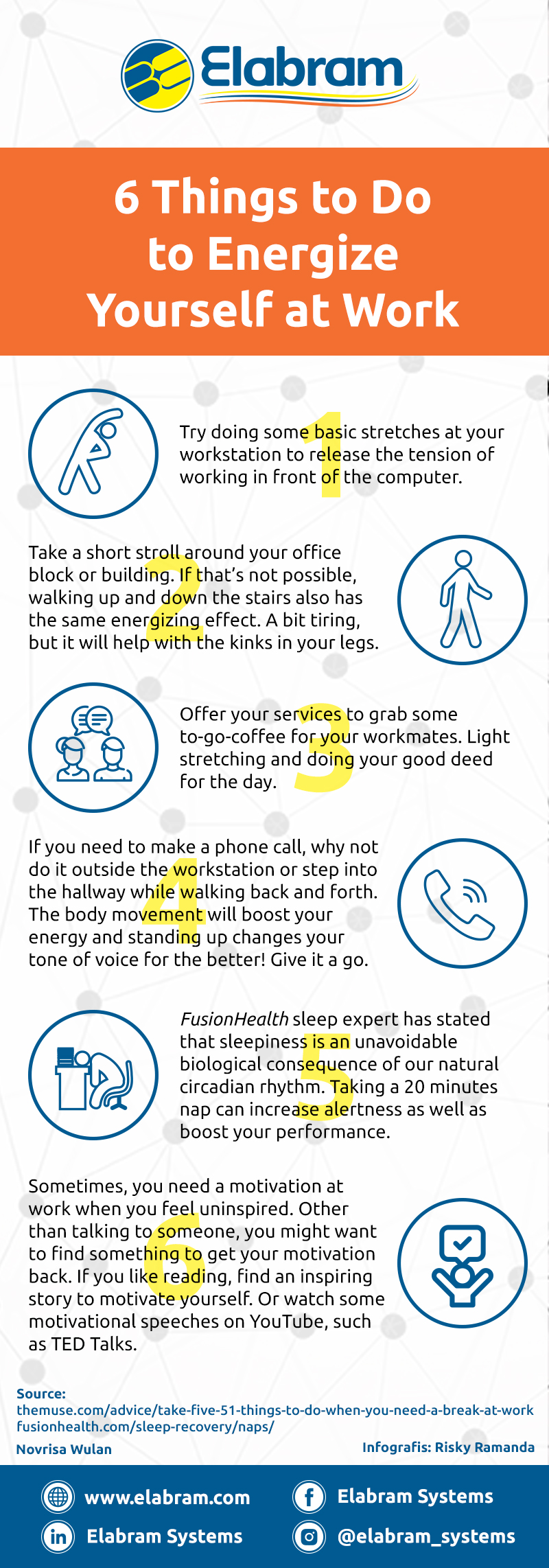 How to Energize Yourself at Work
