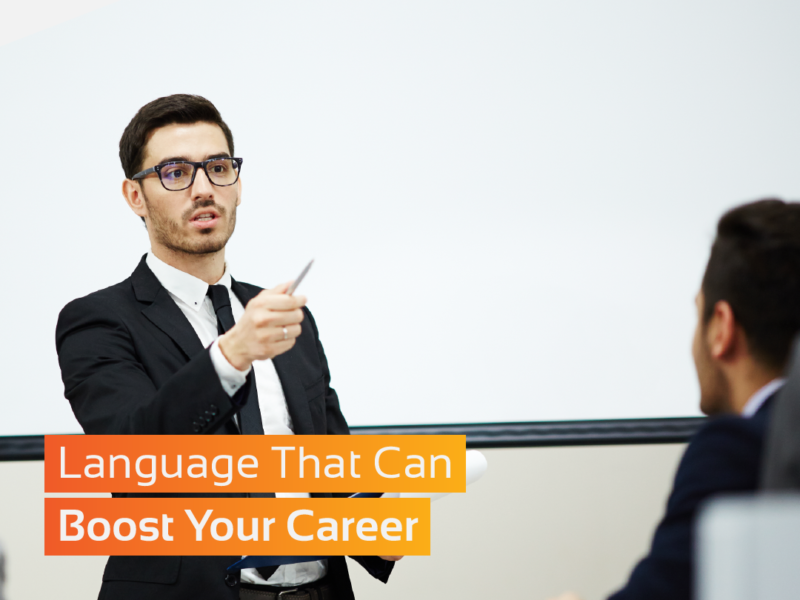Language can boost your career