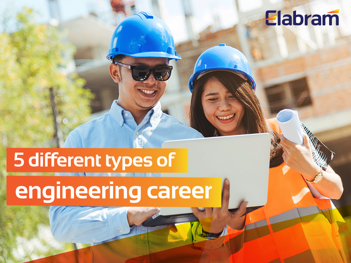 5 different types of engineering career you can explore