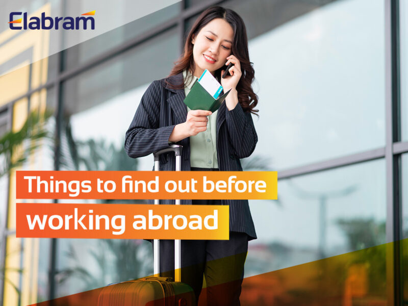 Working Abroad? Don't Be Rush! Here's A Little Notes For You