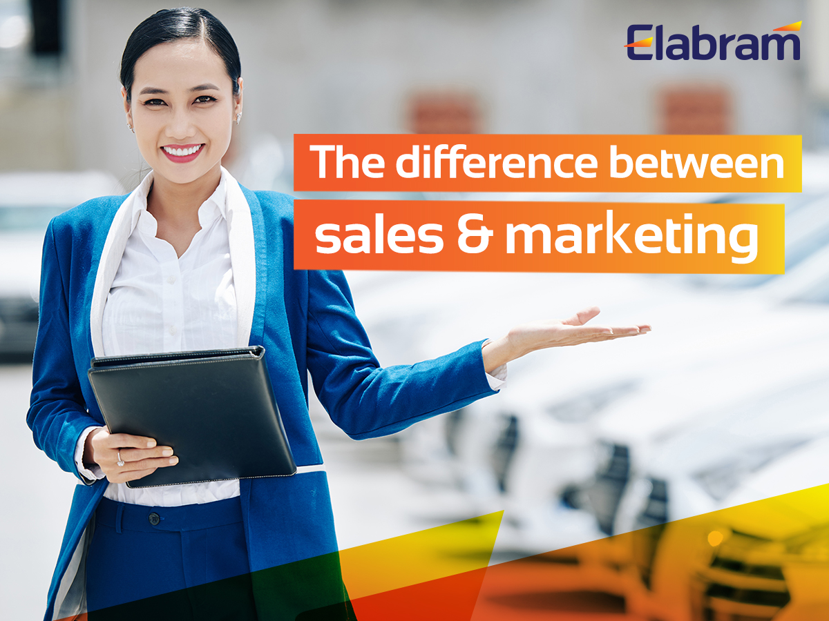 Marketing And Sales: They Are Not Twins. They Are Different!